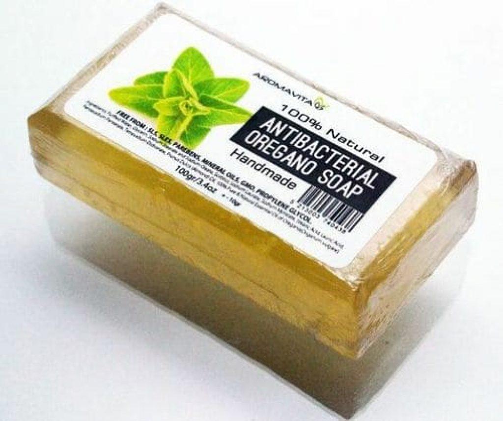 pastilla jabón antibacteriano