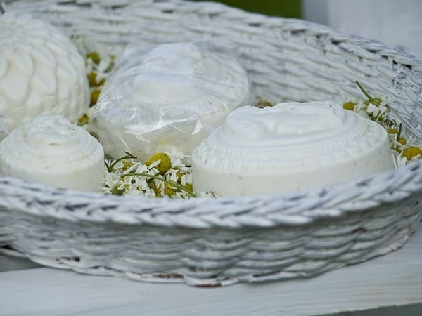 Jabón de manzanilla artesanal