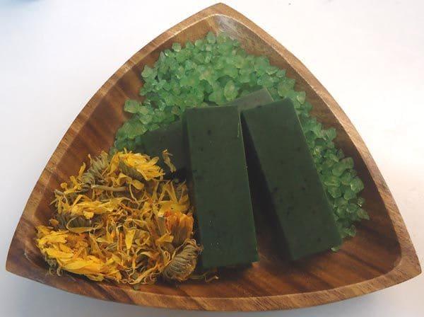 Jabón de algas marinas