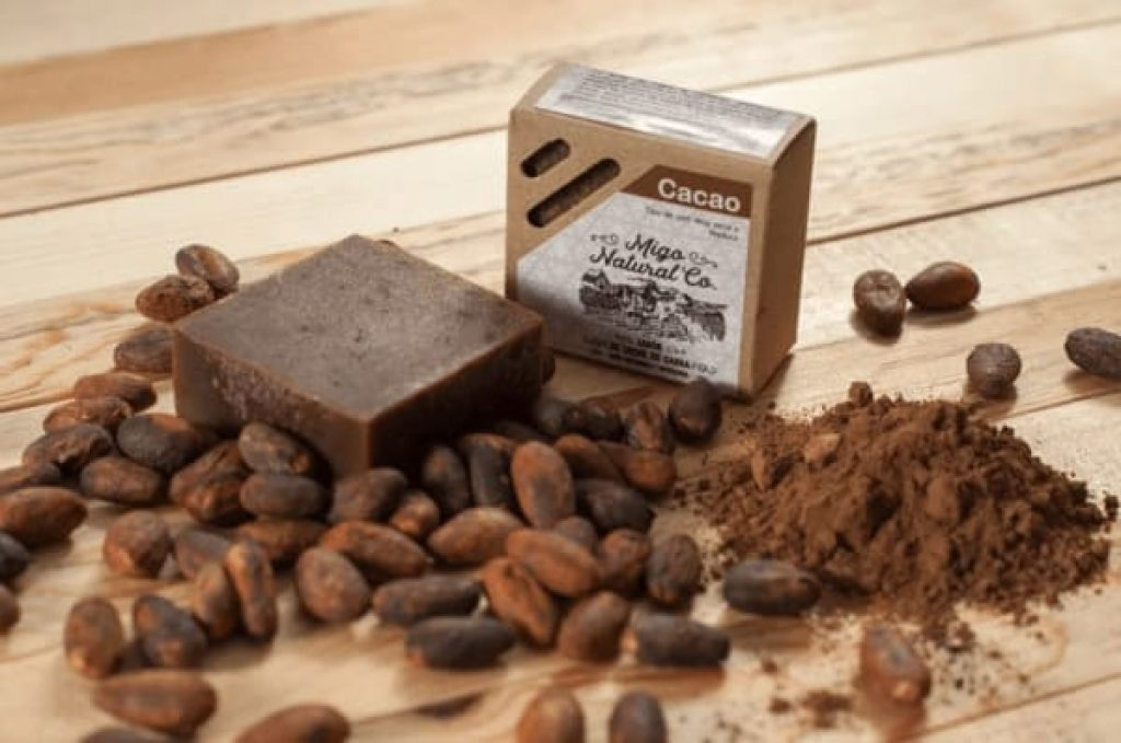 jabon de chocolate